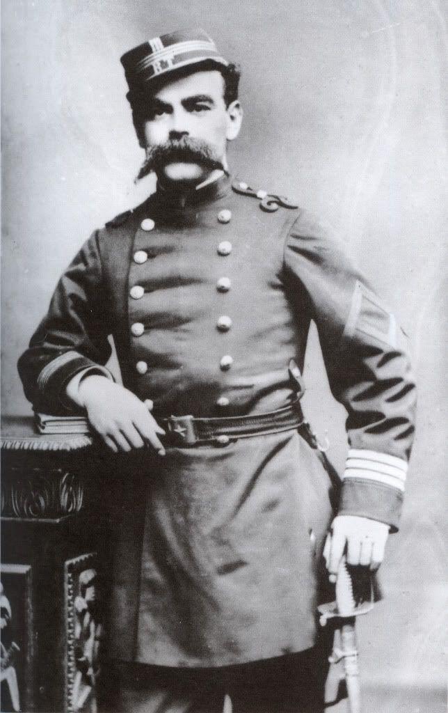 Capitan J.Z. Meza del Batallon Civico Movilizado Talca