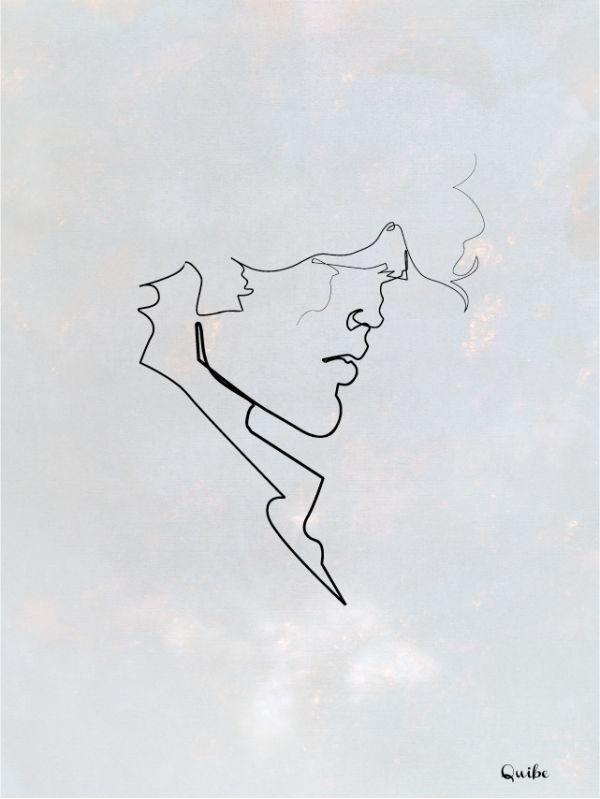 Single Line Art : Best one line illustrations images on pinterest