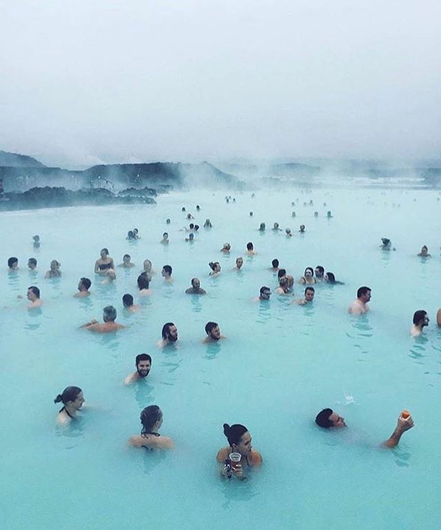 Tag Your Travel Squad ! Blue Lagoon Iceland #vacation : @ianandrewnelson
