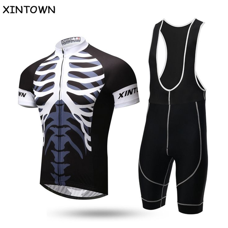 37.61$  Watch now - http://alituq.shopchina.info/1/go.php?t=32714820226 - XINTOWN skeleton Sports Clothing Cycling Jersey Maillot Roupa De Ciclismo Bike Bicycle Cycle Short Sleeve Jersey bib Shorts Kit 37.61$ #buyonlinewebsite