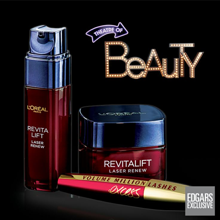 Beauty has its rewards! Get a free gift when purchasing any two L'Oreal Revitalift products.