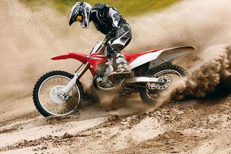 Awesome. Honda dirt bike!