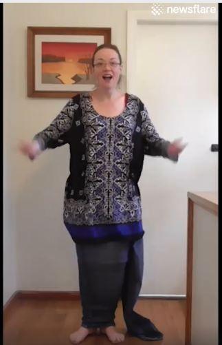 This woman danced away 150 lbs.