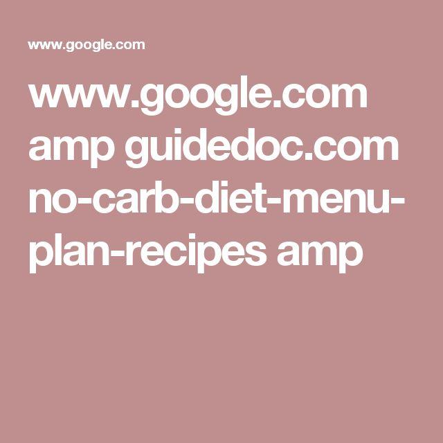www.google.com amp guidedoc.com no-carb-diet-menu-plan-recipes amp