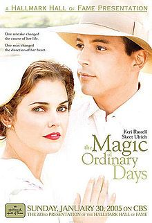 """""""The magic of ordinary days"""". A really great Hallmark movie. I am a pretty big fan of Hallmark movies even though we do not get the channel on our TV, but whenever we go and visit my grandpa I am always sure to catch a good movie. Especially at Christmas, we watch Hallmark all day long leading up to past Christmas day!!!!"""