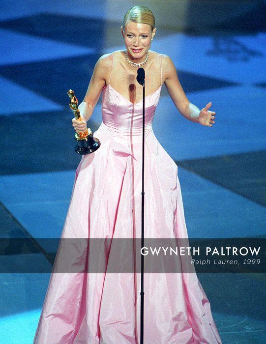Gwyneth Paltrow Ralph Lauren Oscar Dress