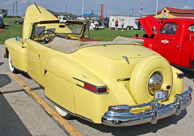1948 Lincoln Continental Need special Insurance on your special cars and trucks then insure them for an agreed value. House of Insurance car insurance for Oregon