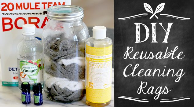 DIY - Reusable Cleaning Rags
