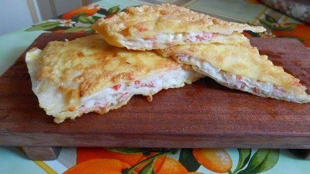 шеф-повар Одноклассники: Очередное лакомство из тонкого лаваша
