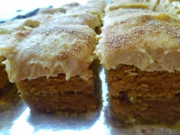 Kürbis Snickerdoodle Bar Cookies