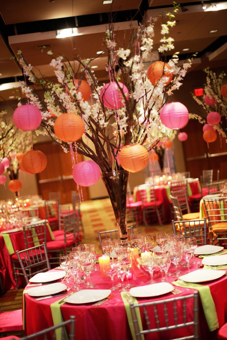 Bar Mitzvah & Bat Mitzvah Decor & Design: Asian Cherry Blossom Tree by MME Event Design & Productions. mmeentertainment.com. Call us now: 877.885.0705 | 212.971.5353