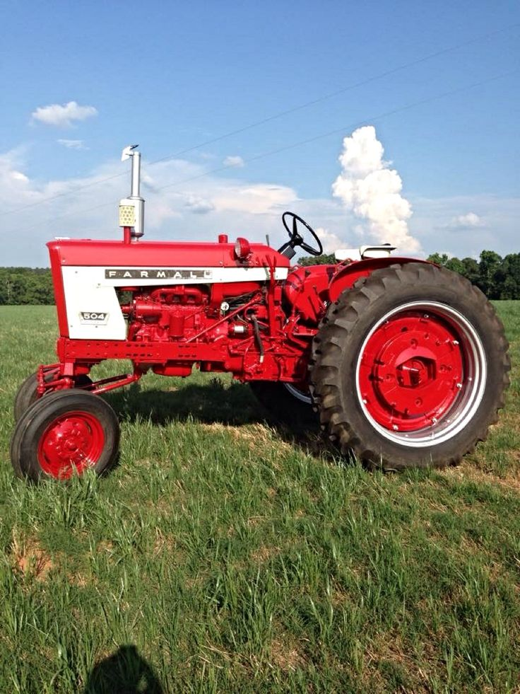 International Harvester 504 Tractor : Best images about ih tractors on pinterest signs