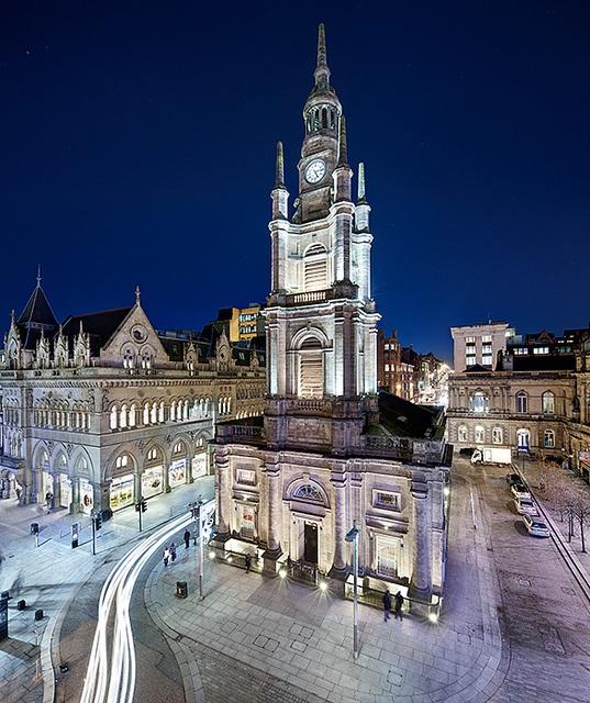 St Georges Tron Church in Nelson Mandela Place, Glasgow, Scotland