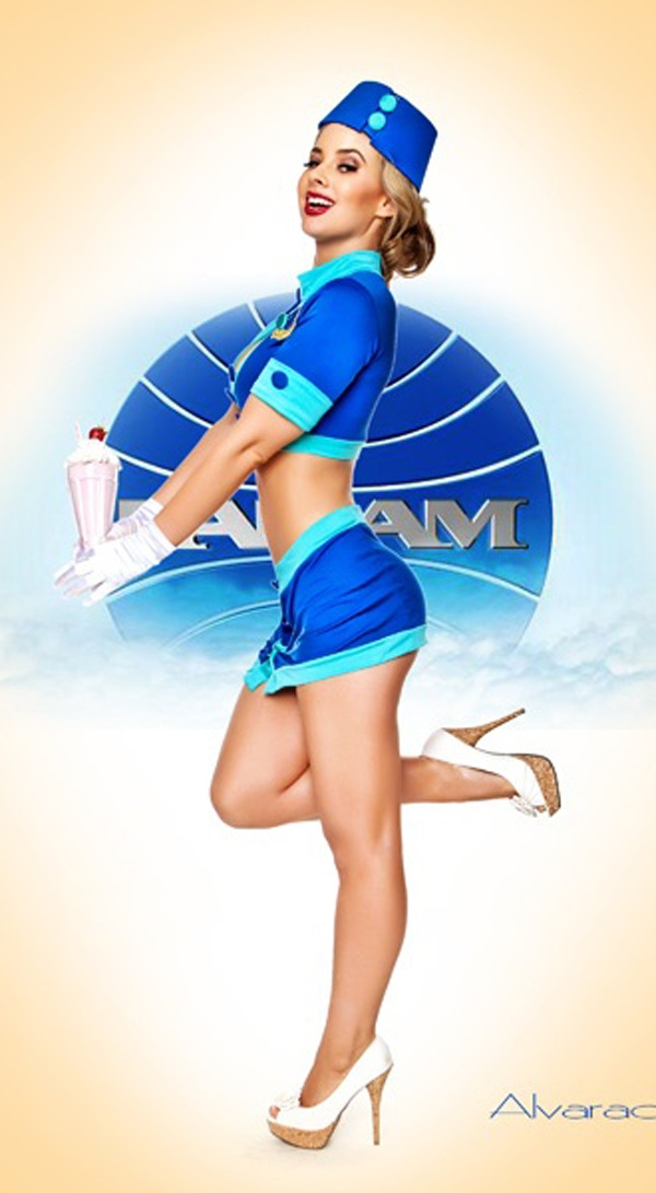 cheap bags Stylized Pan Am