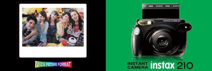 Polaroid camera - Fujifilm Instax 210