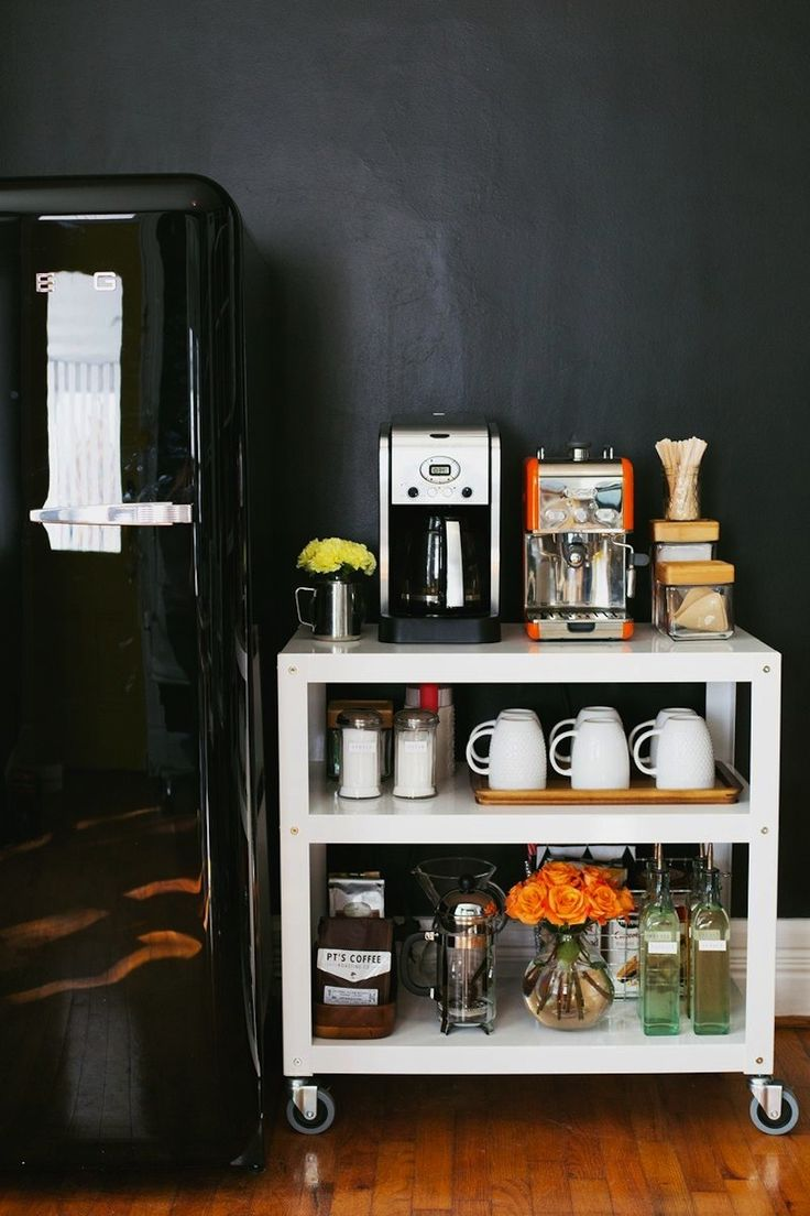 Create storage: http://www.stylemepretty.com/living/2014/05/01/18-kitchen-organization-tips-tricks/
