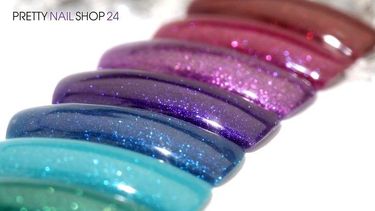 #carbon   #colors   #glitter   #nails   Die neuen Jolifin Carbon Colors Acht beliebte Farben aus unserem Farbgel-Sortiment gibt es jetzt endlich auch als Carbon Colors UV-Nagellack. Die UV-Lacke sorgen für haltbare Nageldesigns ohne Modellage. In diesem Video möchten wir Dir die neuen, schimmernden Farben zeigen.  Hier findest Du die neuen Carbon Colors: http://www.prettynailshop24.de/shop/die-neuen-jolifin-carbon-colors-video_360.html#Produkte