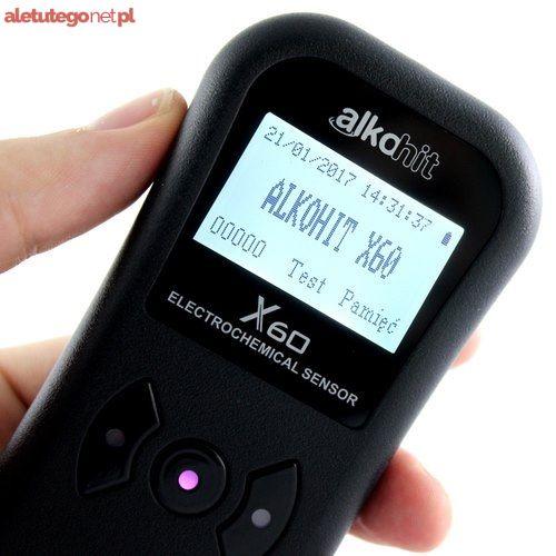 kalibracja, serwis, naprawa alkomat ALKOHIT X60