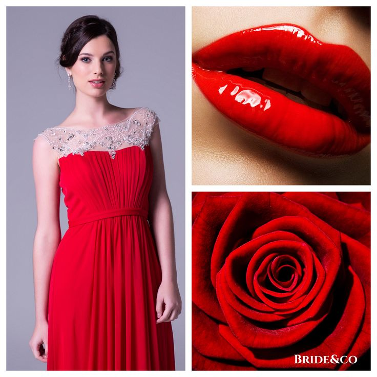 There's something spectacular about a #red #dress. It's both a powerful and energising colour and tends to give the woman who's wearing it confidence. Click to View Online or Book a Free Fitting.