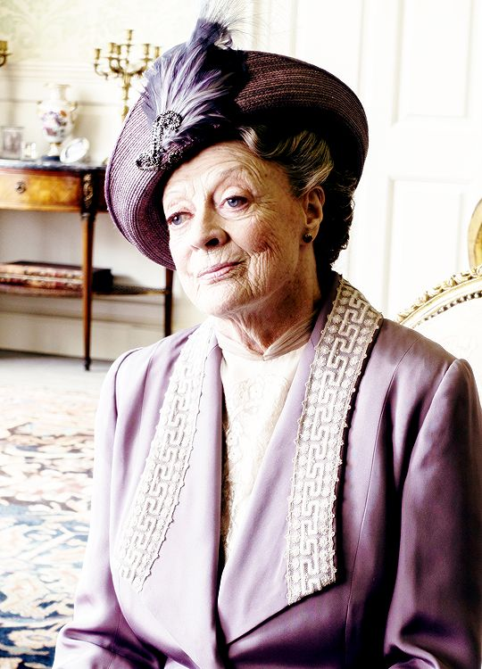 Maggie Smith as Violet Crawley - Downton Abbey, episode 6x07..