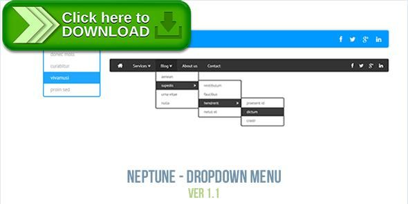 [ThemeForest]Free nulled download Neptune - Dropdown Menu from http://zippyfile.download/f.php?id=49731 Tags: ecommerce, animated, animated css3, animated menu, css3 menu, dropdown menu, html5 menu, icons, icons menu, neptune, neptune menu, responsive menu