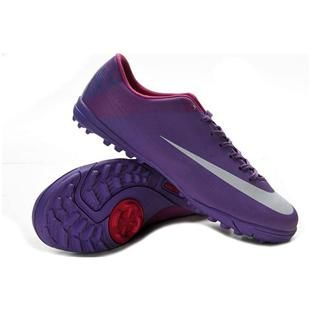 http://www.asneakers4u.com Sale Nike Mercurial Vapor Superfly III TF 2012 Cristiano Ronaldo Soccer Shoes Purple Silver