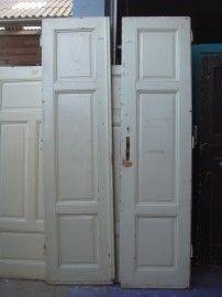 nr. 852 set hoge oude deuren