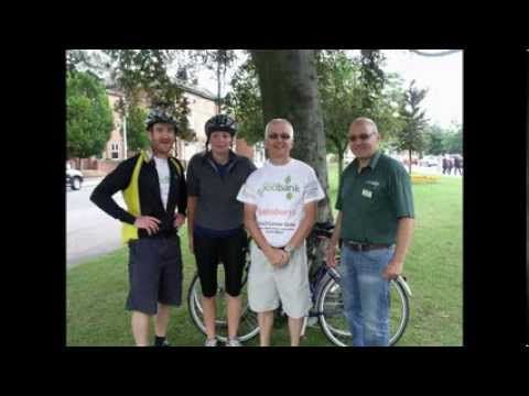 2013 Aug 10 - Grantham Foodbank 100km Bike Ride
