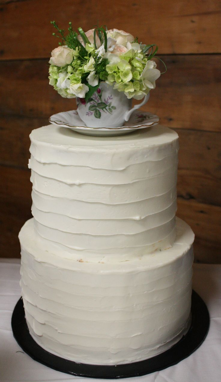 Rustic Teacup Cake