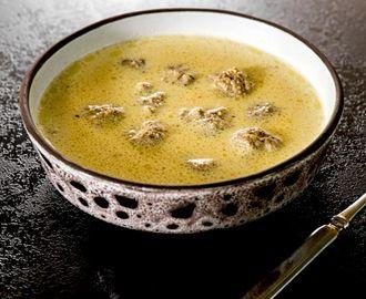 Zupa bałkańska z pulpecikami