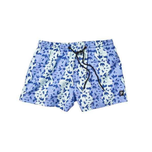 Men's mosaic beach shorts