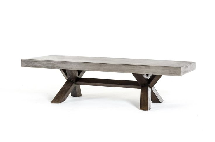 Modrest Urban Concrete Coffee Table Houzz Pinterest Furniture Living Room Furniture And