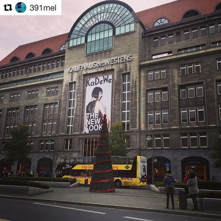 Yellow Tour - Stop no.2: KaDeWe or Kaufhaus des Westens is the largest department store on the European continent. After more than 100 years, is still renowned of high-quality goods!