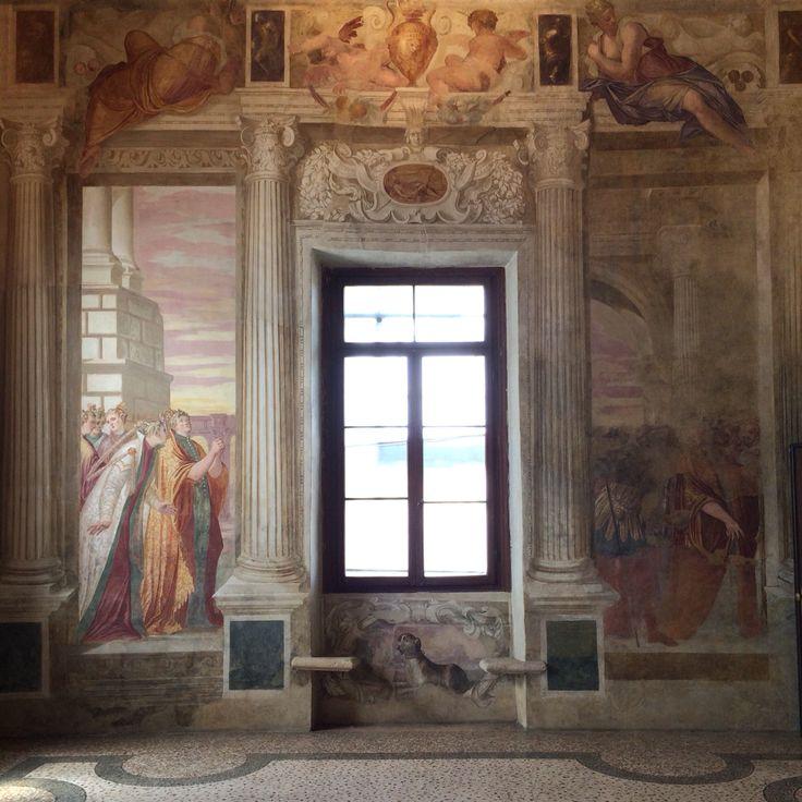 Stanza di Sofonisba. Villa Caldogno (Caldogno, Vicenza) Buon mercoledì