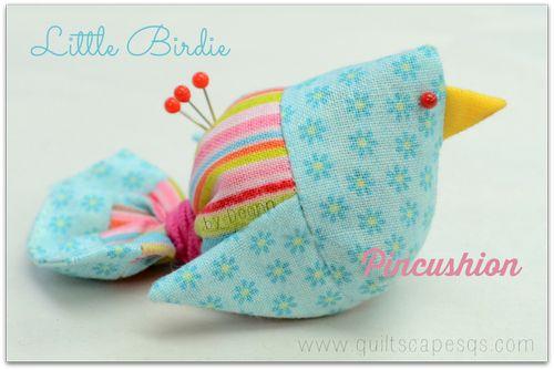 Little birdie Pincushion
