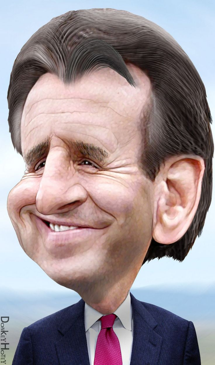 Famous Politicians and Their Caricatures.   Tim Pawlenty