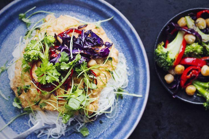 Krämig gryta med asiatiska smaker