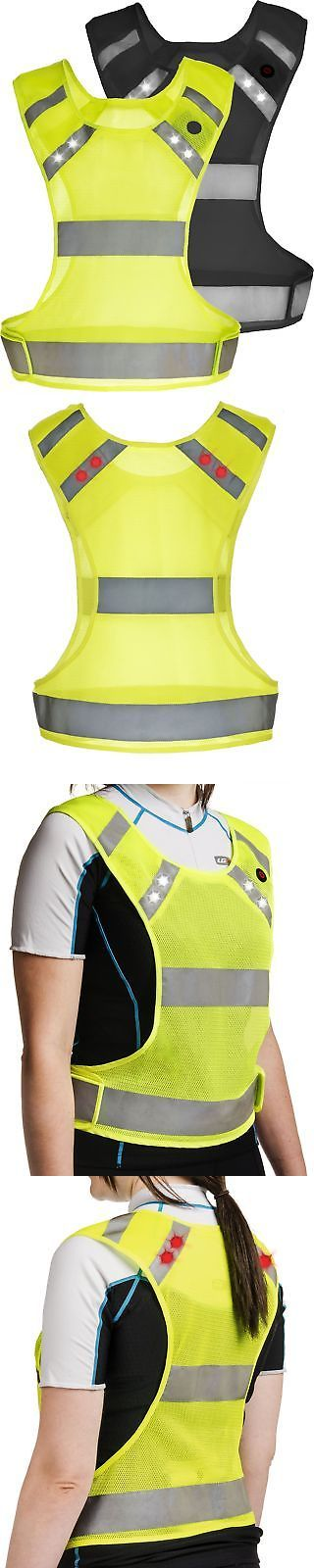 Safety and Reflective Gear 158951: Reflective Running Vest With Led Lights - Night Safety Gear For Men And Wom... New -> BUY IT NOW ONLY: $39.19 on eBay!