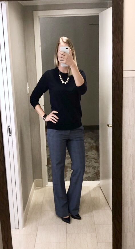outfit post  navy sweater 5f210fcf7