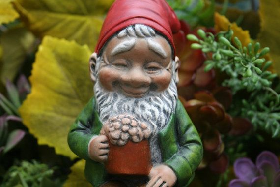 Beer Drinking Gnome  Funny Gnome on a Keg Holding by PhenomeGNOME, $59.99                                                                                                                                                                                 More