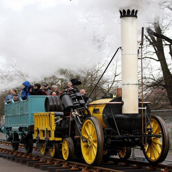 rocket steam locomotive