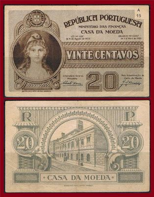 Notas de Portugal e Estrangeiro World Paper Money and Banknotes: Portugal 20…