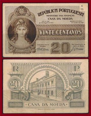 Notas de Portugal e Estrangeiro World Paper Money and Banknotes: Portugal 20…