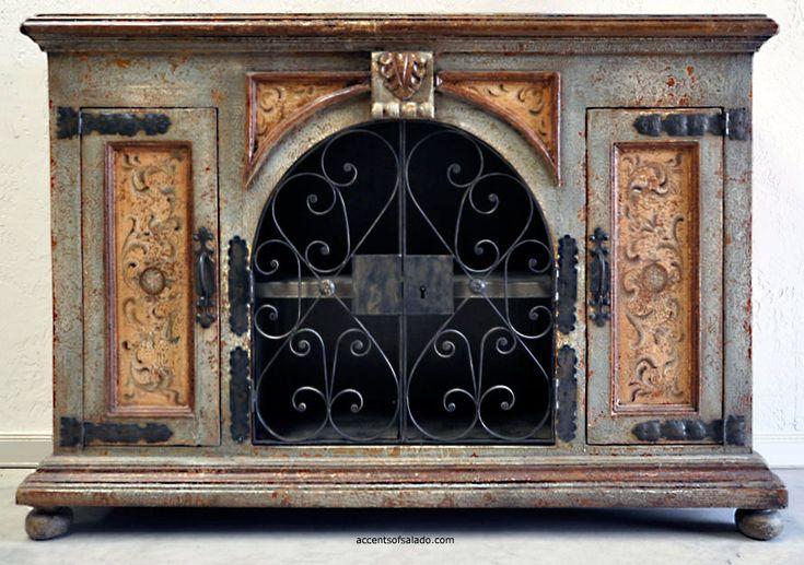 Rustic Furniture Spanish Hacienda Tuscan Style Furniture Media Cabinets