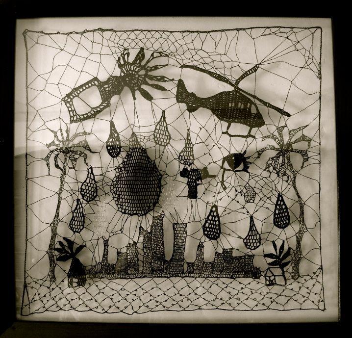 Crochet Lace.... FANTASTIC!!: Lace, Textile Fiber Embroidery, Inspirational Images, Art Textile, Textiles Art, Art Piece, Kat Coyle, Fiber Art