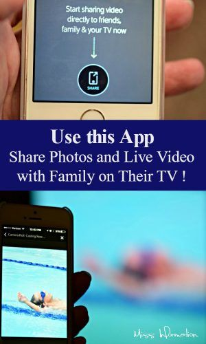 Share live video and photos from your cell phone to someone else's TV , this is great for Grandparents - Step by Step Instructions!