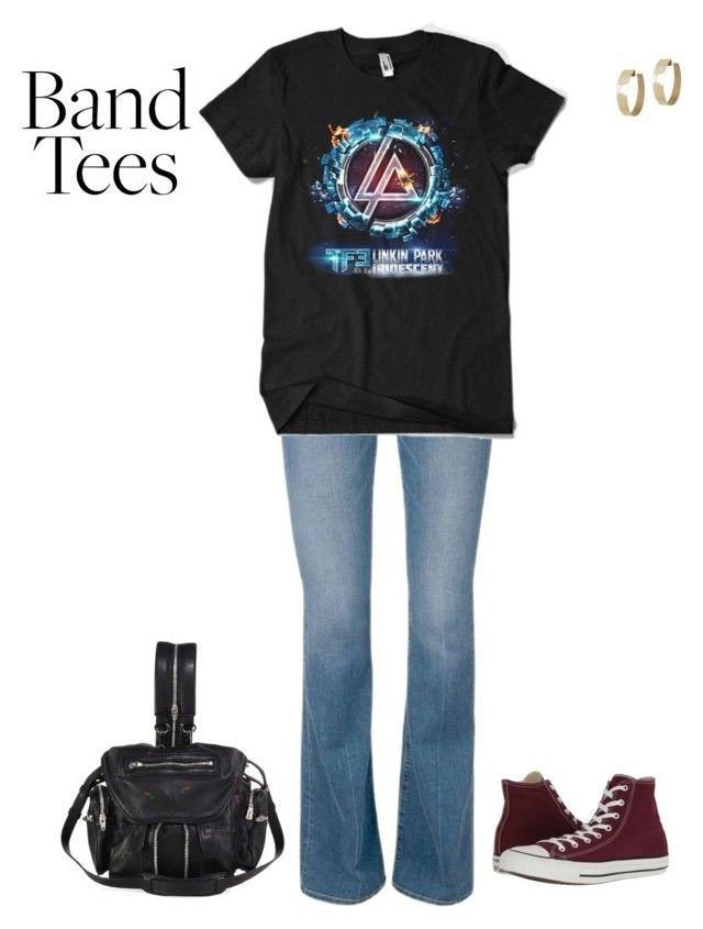 """In Memory of Chester Bennington"" by angelbear38 on Polyvore featuring Converse, Alexander Wang and Zimmermann"
