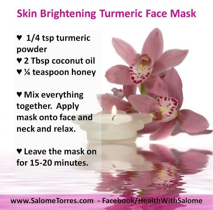 Turmeric mask | Projects to Try | Pinterest | Turmeric Mask and ...
