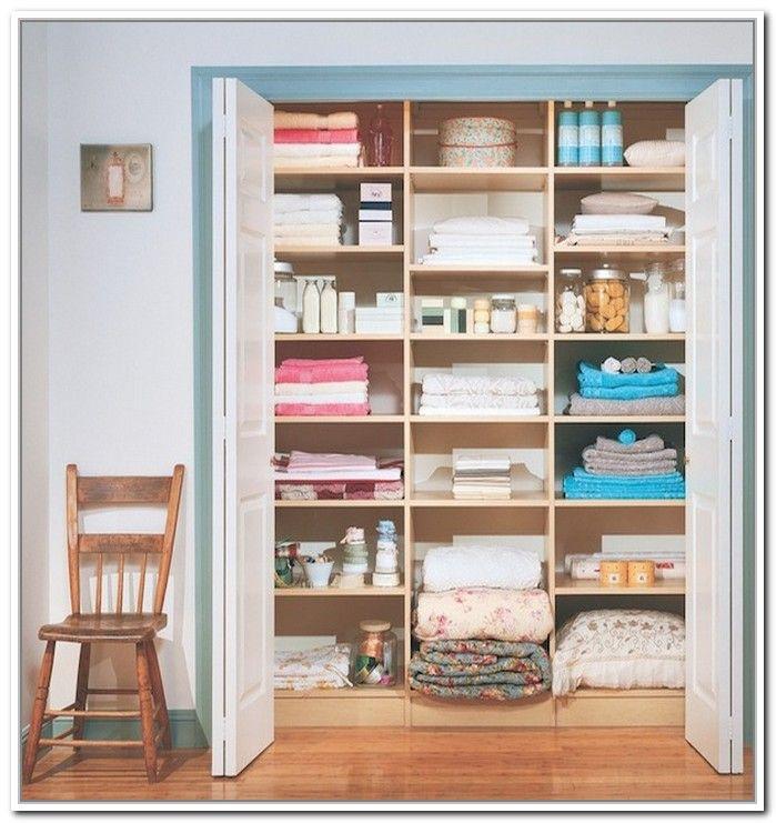 17 best images about storage on pinterest storage bins for Linen closet designs