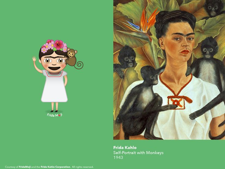 Frida Kahlo Infiltrates the Snapchat Generation with a New Set of Emoji